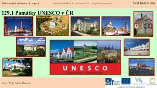 129.1 Památky UNESCO v ČR