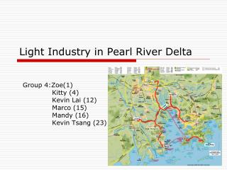 Light Industry in Pearl River Delta