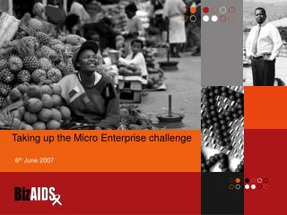 Taking up the Micro Enterprise challenge