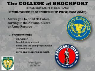 SIMULTANEOUS MEMBERSHIP PROGRAM (SMP)
