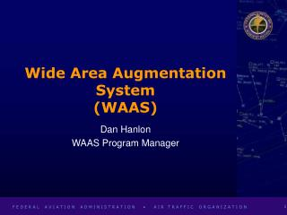 Wide Area Augmentation System (WAAS)