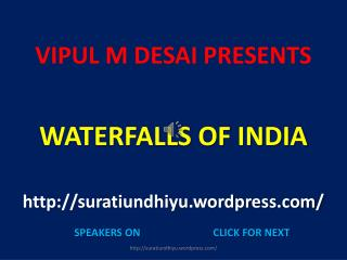 VIPUL M DESAI PRESENTS