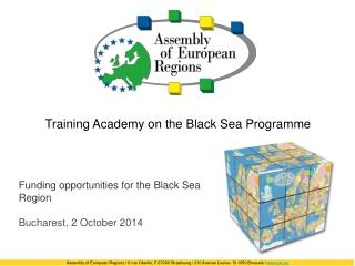 Training Academy on the Black Sea Programme