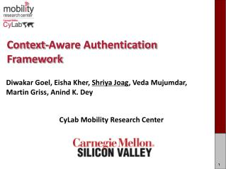 Context-Aware Authentication Framework