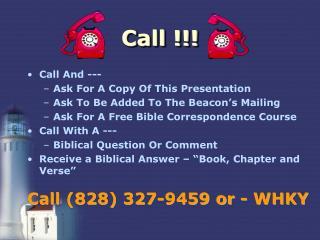 Call !!!