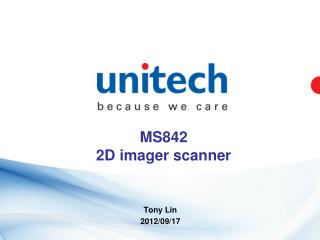 MS842   2D imager scanner