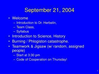 September 21, 2004