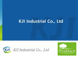 KJI Industrial Co., Ltd