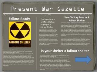 Korean War Gazette