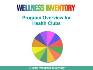 Program Overview for  Health Clubs