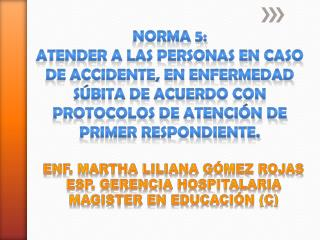 NORMA 5: