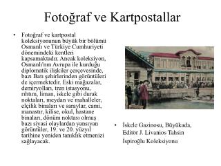 Fotoğraf ve Kartpostallar