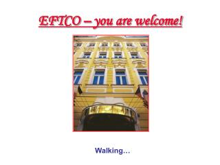 EFTCO – you are welcome!
