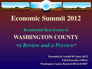 Economic Summit 2012