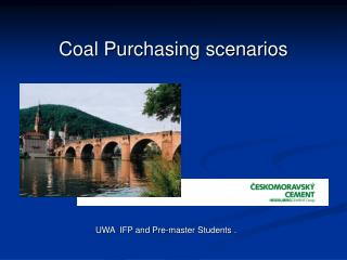 Coal Purchasing scenarios