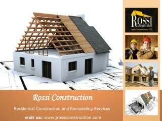 Rossi Construction - Tampa Florida Construction Companies