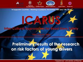 ICARUS Inter-Cultural Approaches for Road Users Safety