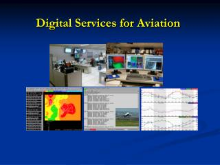 Digital Services for Aviation