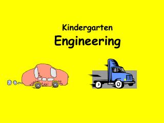 Kindergarten Engineering