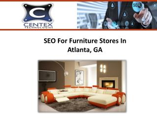 SEO for Furniture In Atlanta, GA