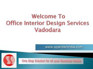 Modular Office Furniture Design Services in Vadodara