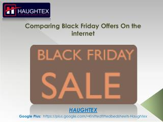 Comparing Black Friday Deals On the internet