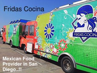 Food Trucks San Diego - Fridas Cocina