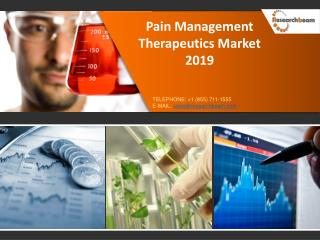 Pain Management Therapeutics Market 2019