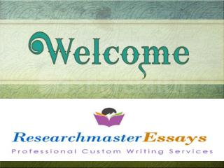 RMEssays offers top-quality professional writing help