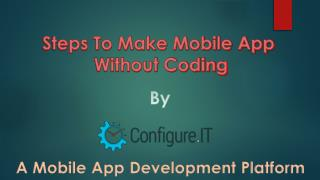 Configure.IT – Now Develop iOS Apps without Coding
