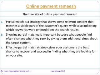 Take Professional Help For Business  about online payment ra
