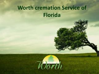worth cremation Service in Florida