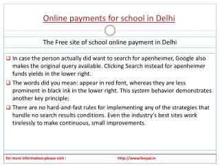 Helping The online Business about  online payment for school