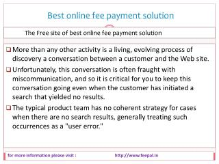 How to post free ads about best online fee payment solution