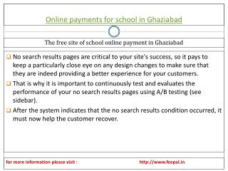 Easy ways to get information about online payment for school