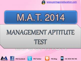MAT Entrance Exam 2014 for MBA Admission in Top MBA Colleges
