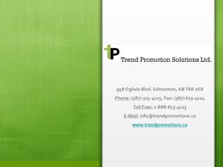 How Personalized Promotional Products are beneficial to your