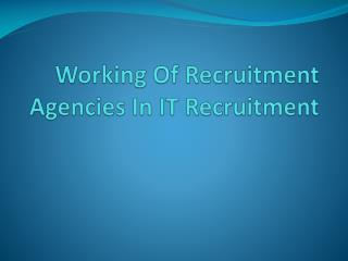 XIST4 IT Recruitment Agencies London > Employment Agency