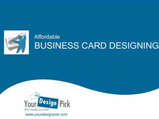 Affordable Business Card Designing – YourDesignPick