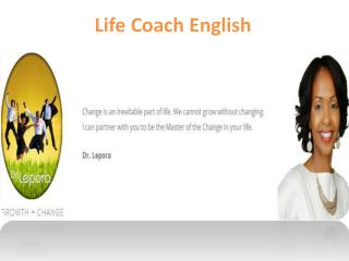 Life Coach English - www.drlepora.com