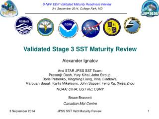 S-NPP EDR Validated Maturity Readiness Review 3-4 September  2014,  College Park,  MD