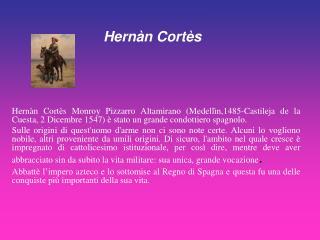 Hernàn Cortès