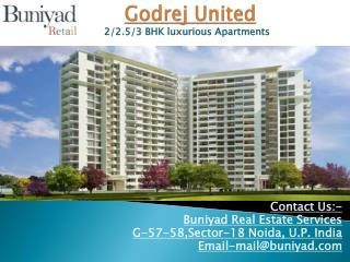 Buy Premium Apartments in Godrej United Bangalore