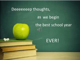 Deeeeeeep thoughts,