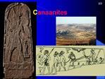 Canaanites