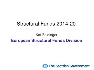 Structural Funds 2014-20