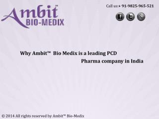 Pharma Franchisee Companies India