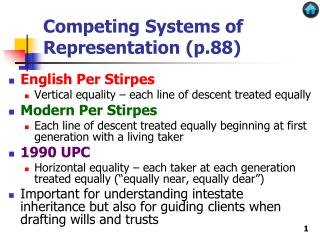 Competing Systems of Representation (p.88)