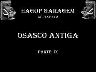 HAGOP GARAGEM APRESENTA