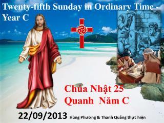 Twenty-fifth Sunday in Ordinary Time - Year C